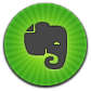 Evernote, Round Icon