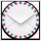 Mail, Round Icon