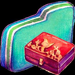 Folder, Green, Personal, Storage Icon