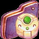 Folder, Robot, Violet Icon