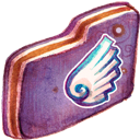 Folder, Violet, Wing Icon