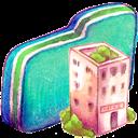 Folder, Green, Office Icon