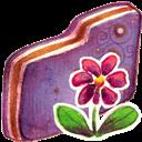 Flower, Folder, Violet Icon
