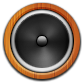 Round, Speaker Icon