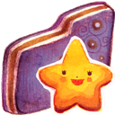 Folder, Starry, Violet Icon