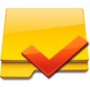 Checked, Folder Icon