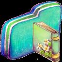 Book, Folder, Green Icon