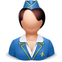 Airhostess Icon