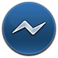 Messenger, Round Icon