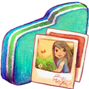 Folder, Green, Pictures Icon