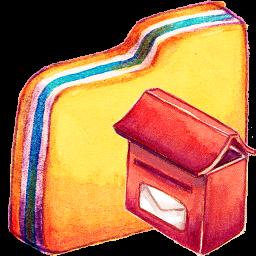 Folder, Mailbox Icon