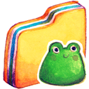 Folder, Froggy Icon