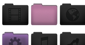 Mica Folders Icons
