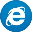 Circle, Flat, Ie Icon