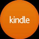 Circle, Flat, Kindle Icon