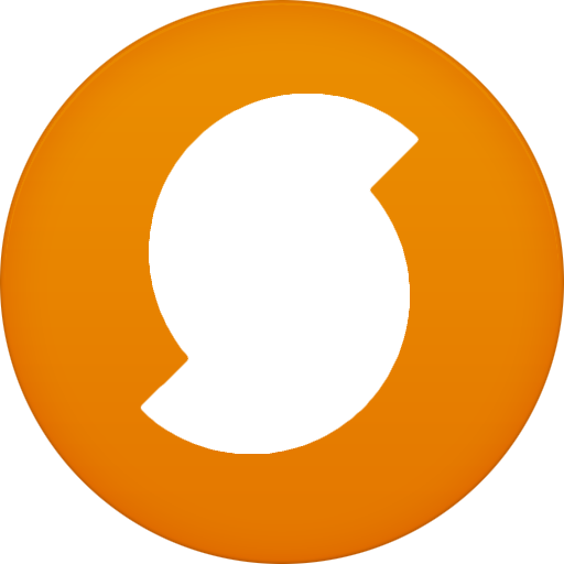 Circle, Flat, Soundhound Icon