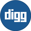 Border, Digg, Round, With Icon