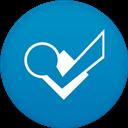 Circle, Flat, Foursquare Icon