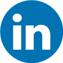 Linkedin, Round Icon