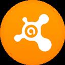Avast, Circle, Flat Icon