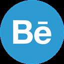 Behance, Round Icon