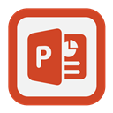 Outline, Powerpoint Icon