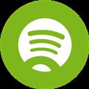 Round, Spotify Icon