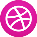 Circle, Dribble, Flat Icon