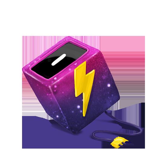 Cube, Energy Icon