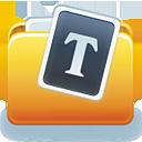Fontfolder Icon
