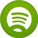 Circle, Flat, Spotifiy Icon