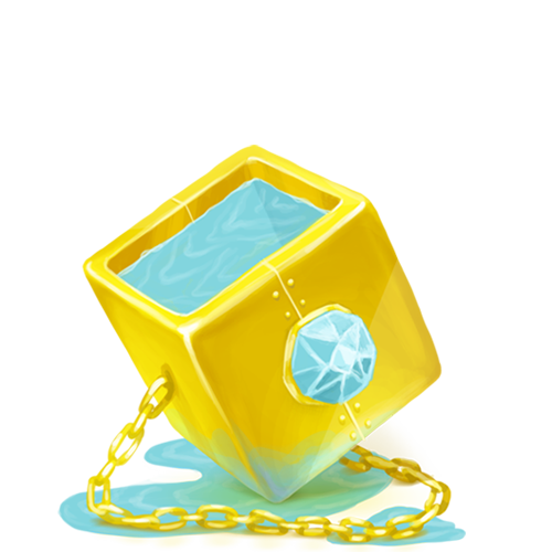 Cube, Golden Icon