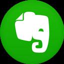 Circle, Evernote, Flat Icon