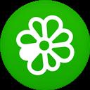 Circle, Flat, Icq Icon