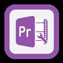 Outline, Premiere, Pro Icon