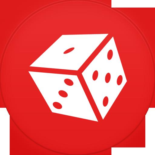 Circle, Flat, Games Icon