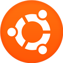 Circle, Flat, Ubuntu Icon