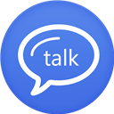 Circle, Flat, Google, Talk Icon