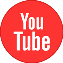 Border, Round, With, Youtube Icon