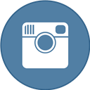 Border, Instagram, Round, With Icon