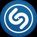 Circle, Flat, Shazam Icon