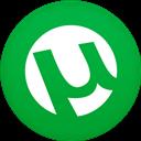 Circle, Flat, Utorrent Icon