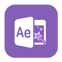 Aftereffects, Solid Icon