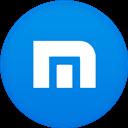 Circle, Flat, Maxthon Icon