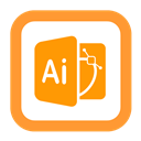 Illustrator, Outline Icon