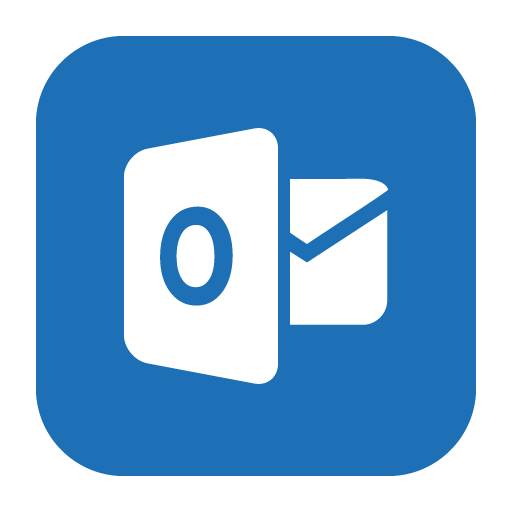 Outlook, Solid, Web Icon