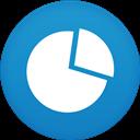 Circle, Flat, Graph Icon