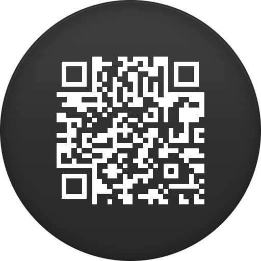Circle, Code, Flat, Qr Icon