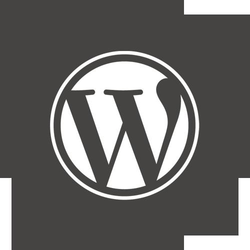 Round, Wordpress Icon