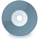 Disk, Moon Icon